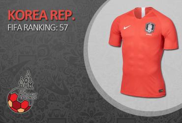 Pietų Korėja (A Komanda)